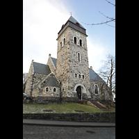Ålesund (Aalesund), Kirke, Seitenansicht mit Turm