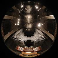 Trondheim, Nidarosdomen (Wagner-Orgel), Hauptorgel und gesamter Innenraum