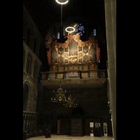 Trondheim, Nidarosdomen (Wagner-Orgel), Orgelempore mit Wagner-Orgel