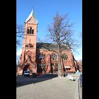 Berlin - Spandau, Lutherkirche, Seitenansicht