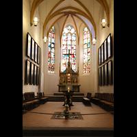 Leipzig, Thomaskirche - Bachorgel, Chorraum