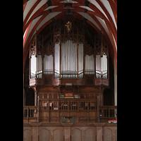 Leipzig, Thomaskirche - Bachorgel, Sauer-Orgel auf der Westempore
