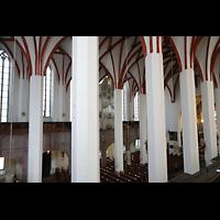 Leipzig, Thomaskirche - Bachorgel, Blick von der Südempore zur Bach-Orgel