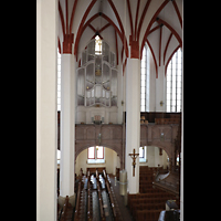 Leipzig, Thomaskirche - Bachorgel, Bach-Orgel und Innenraum