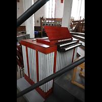 Leipzig, Thomaskirche - Bachorgel, Orgelpositiv