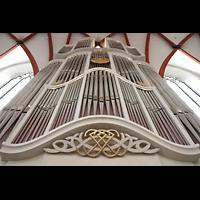 Leipzig, Thomaskirche - Bachorgel, Prospekt der bach-Orgel perspektivisch