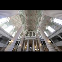 Leipzig, Nikolaikirche, Orgelempore und Seitenemporen