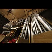 Leipzig, Neues Gewandhaus, Orgel perspekticisch, vorne die Pedaltürme
