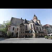 Leipzig, Nikolaikirche, Außenansicht seitlich