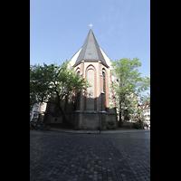Leipzig, Nikolaikirche, Ansicht vom Chor aus