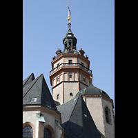 Leipzig, Nikolaikirche, Turm und Dächer