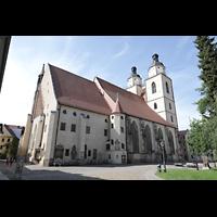 Wittenberg, Stadtkirche, Kirchplatz und Stadtkirche