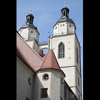 Wittenberg, Stadtkirche, Türme