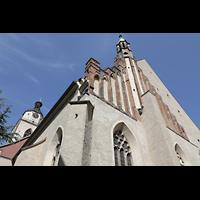 Wittenberg, Stadtkirche, Ansicht von Südosten