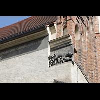 Wittenberg, Stadtkirche, Darstellung der 'Judensau' an der Südfassade