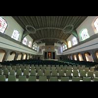 Ulm, Evangelische Pauluskirche, Innenraum in Richtung Chor