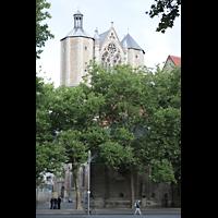Braunschweig, Dom St. Blasii (Hauptorgel), Romanische Türme und gotisches Glockenhaus