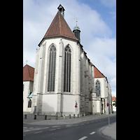 Braunschweig, St. Ulrici Brüdern (Positiv 1), Chor von der Kannengießerstraße aus