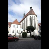Braunschweig, St. Ulrici Brüdern (Positiv 1), Chor und Vorhof von der Kannengießerstraße aus