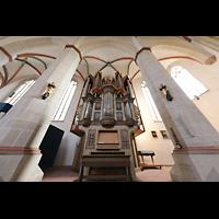 Braunschweig, St. Ulrici Brüdern (Positiv 1), Orgel mit barockem Rückpositiv