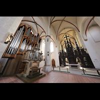 Braunschweig, St. Ulrici Brüdern (Positiv 1), Orgel und Lettner