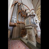 Braunschweig, St. Ulrici Brüdern (Positiv 1), Orgel seitlich