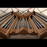 Braunschweig, St. Ulrici Brüdern (Positiv 1), Orgelprospekt perspektivisch