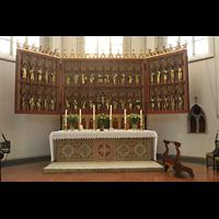 Braunschweig, St. Ulrici Brüdern (Positiv 1), Altar