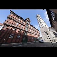 Braunschweig, St. Andreas, Alte Waage und Turm