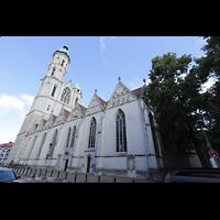 Braunschweig, St. Andreas, Seitenansicht von der Kröppelstraße aus