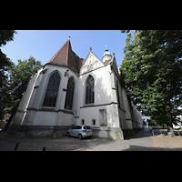 Braunschweig, St. Andreas, Chor von außen