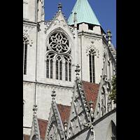 Braunschweig, St. Andreas, Glockenhaus und Dachgiebel