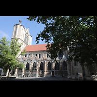 Braunschweig, Dom St. Blasii (Hauptorgel), Seitenansicht von Süden