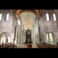 Braunschweig, Dom St. Blasii (Hauptorgel), Querhaus und Hauptschiff mit Blick zur Orgel
