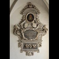 Braunschweig, Dom St. Blasii (Hauptorgel), Epitaph Philipp Ludwig, Propst von Wendhausen