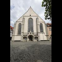 Braunschweig, St. Ulrici Brüdern (Positiv 1), Fassade - Ansicht von der Schützenstraße aus