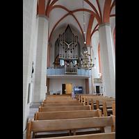 Braunschweig, St. Petri, Hauptschiff mit Orgel