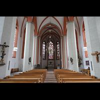 Braunschweig, St. Petri, Innenraum in Richtung Chor