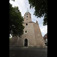 Braunschweig, St. Petri, Fassade mit Turm