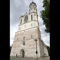 Braunschweig, St. Andreas, Fassade mit Turm