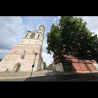 Braunschweig, St. Andreas, Fassade und Alte Waage