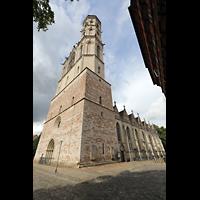 Braunschweig, St. Andreas, Ansicht von Südwesten