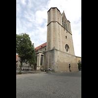 Braunschweig, Dom St. Blasii (Hauptorgel), Domplatz mit Türmen