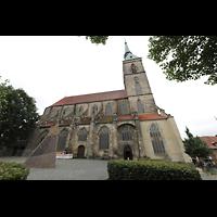 Hildesheim, St. Andreas, Seitenansicht von Norden vom Andreasplatz aus