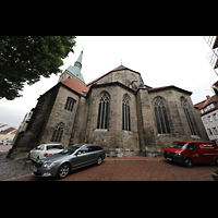 Hildesheim, St. Andreas, Chor von außen vom Andreasplatz aus (Südseite)