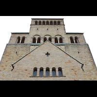 Hildesheim, Mariendom, Fassade und Turm