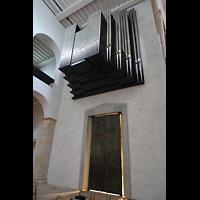 Hildesheim, Mariendom, Orgelempore schräg von unten