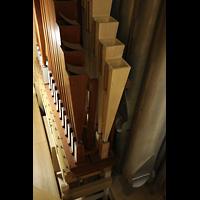 Hildesheim, Mariendom, Becher der großen Pedalzungen aus Holz