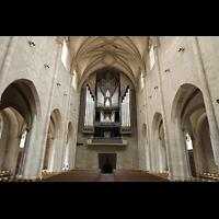 Hildesheim, St. Andreas, Innenraum in Richtung Orgel