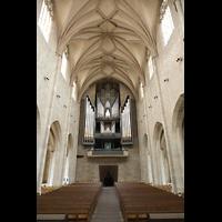 Hildesheim, St. Andreas, Orgel und Hauptschiff
